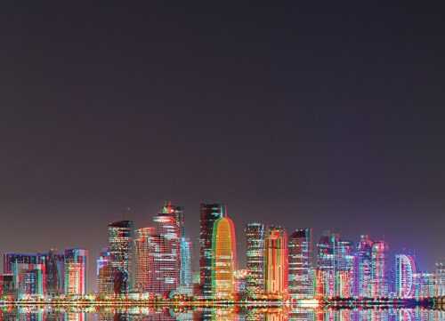 Blinq · Cutting Edge Sight & Sound Technologies · Part of IMAR GROUP — Doha Qatar