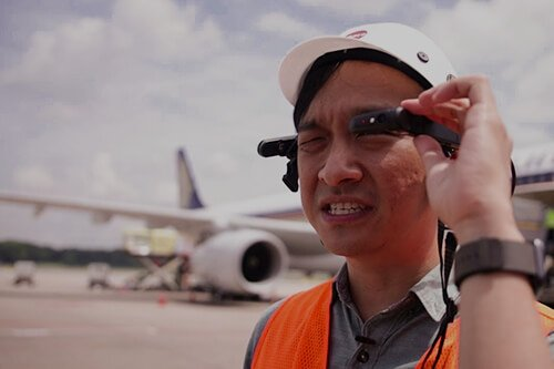 Blinq · Cutting Edge Sight & Sound Technologies · Part of IMAR GROUP — AR Changi Airport